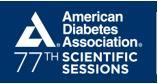 American Diabetes Association 77th Scientific Sessions, June 9-13, San Diego, California